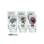 Game of Thrones - Assortiment de 6 verres