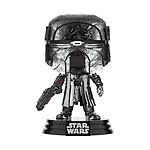 Star Wars - Figurine POP! KOR Blaster (Chrome) 9 cm