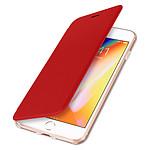 Avizar Etui folio Rouge pour Apple iPhone 7 Plus , Apple iPhone 8 Plus