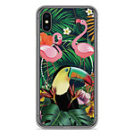 1001 Coques Coque silicone gel Apple iPhone X motif Tropical Toucan