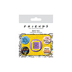 Friends - Pack 5 badges Quotes