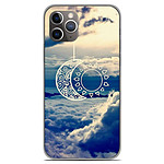 1001 Coques Coque silicone gel Apple iPhone 11 Pro motif Lune soleil