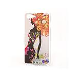 COQUEDISCOUNT Coque rigide femme fleurs pour Sony Xperia E3