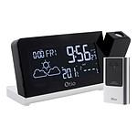 Station météo Monalisa à projection avec capteur externe sans fil - Otio