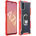 Avizar Coque Rouge pour Samsung Galaxy A71