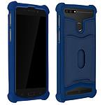 Avizar Coque Bleu Nuit pour Compatibles avec Smartphones de 4,7 à 5,0 pouces
