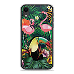 1001 Coques Coque silicone gel Apple iPhone XR motif Tropical Toucan