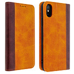 Avizar Etui folio Camel pour Apple iPhone X , Apple iPhone XS
