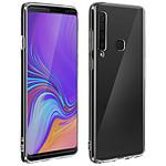 Avizar Coque Transparent avec film pour Samsung Galaxy A9 2018