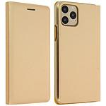 Avizar Etui folio Dorée Porte-Carte pour Apple iPhone 11 Pro