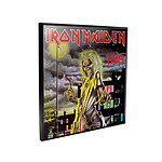 Iron Maiden - Décoration murale Crystal Clear Picture Killers 32 x 32 cm