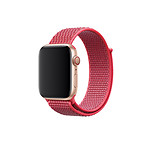Inkasus Bracelet en nylon rose pour Apple Watch 44mm