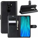 Lapinette Etui Housse Portfeuille pour Xiaomi Redmi Note 8 Pro Noir