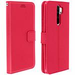 Avizar Etui folio Rose pour Xiaomi Redmi Note 8 Pro