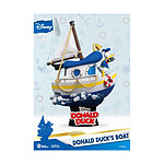 Disney Summer Series - Diorama D-Stage Donald Duck's Boat 15 cm