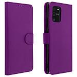 Avizar Etui folio Violet pour Samsung Galaxy S10 Lite