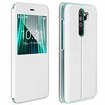 Avizar Etui folio Blanc pour Xiaomi Redmi Note 8 Pro