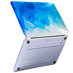 Avizar Coque Bleu pour Apple MacBook Pro 13''
