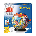 Pokémon - Puzzle 3D Ball (72 pièces)