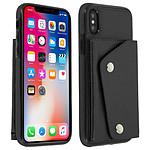 Avizar Coque Noir Portefeuille pour Apple iPhone X , Apple iPhone XS