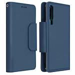 Avizar Etui folio Bleu Nuit pour Huawei P30