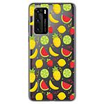 1001 Coques Coque silicone gel Huawei P40 motif Fruits tropicaux