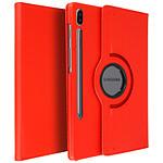 Avizar Etui folio Rouge pour Samsung Galaxy Tab S6 10.5