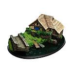 Le Hobbit : Un voyage inattendu - Diorama Hobbiton Mill & Bridge 31 x 17 cm
