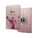 EVETANE Etui iPad 2/3/4 rigide rose gold Yeux De Biche