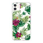 LA COQUE FRANCAISE Coque iPhone 11 360 intégrale transparente Tropical Tendance