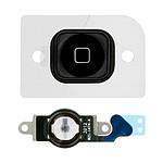 Avizar Bouton Home Complet avec nappe de connexion pour Apple iPhone 5 Noir