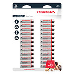 Thomson-Lot de 48 piles AA LR06 - Thomson
