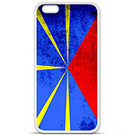 1001 Coques Coque silicone gel Apple iPhone 6 / 6S motif Drapeau La Réunion