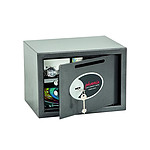 Phoenix Coffre-fort anti-effraction vela home/office serrure à clés 17L gris