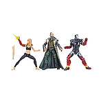Iron Man 3 - Pack 3 figurines Marvel Legends Series Pepper, Mark XXII & Mandarin 15 cm
