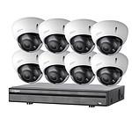 Dahua Kit vidéosurveillance 8 caméras anti-vandalisme + enregistreur  1080p