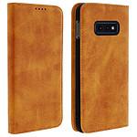 Avizar Etui folio Camel pour Samsung Galaxy S10e