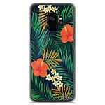 1001 Coques Coque silicone gel Samsung Galaxy S9 motif Tropical