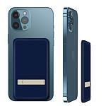 Avizar Chargeur de secours Bleu pour Tout les iPhone QI