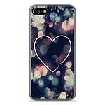 1001 Coques Coque silicone gel Apple IPhone 8 motif Coeur Love