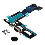 Avizar Bouton Home iPhone 7 Plus et Nappe de Charge Fonction retour arrière Noir
