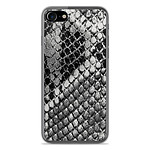 1001 Coques Coque silicone gel Apple IPhone 7 Plus motif Texture Python