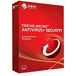 Trend Micro Antivirus Plus - Licence 1 an - 3 postes - A télécharger