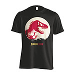 Jurassic Park - T-Shirt T-Rex Spotted - Taille S