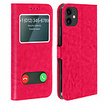 Avizar Etui folio Rose pour Apple iPhone 11