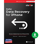 Stellar Data Recovery for iPhone Standard  - Licence 1 an - 1 poste - A télécharger