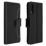 Avizar Etui folio Noir pour Samsung Galaxy A50 , Samsung Galaxy A30s