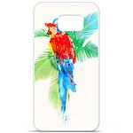 1001 Coques Coque silicone gel Samsung Galaxy S6 motif RF Tropical party