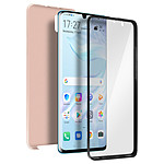 Avizar Coque Rose Champagne pour Huawei P30 Pro