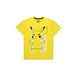 Pokémon - T-Shirt Shocked Pika - Taille S